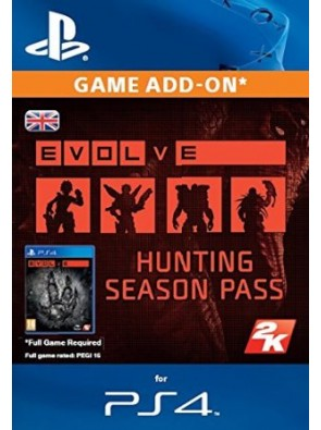 Evolve Hunting Season Pass PS4