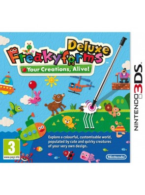 Freakyforms Deluxe 3DS - Game Code