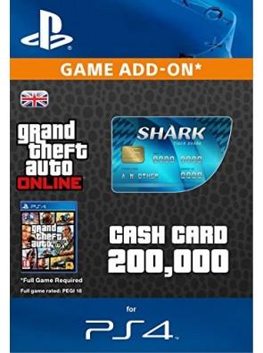 Grand Theft Auto Online (GTA V 5) Tiger Shark Cash Card PS4