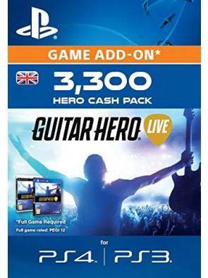 Guitar Hero Live 3300 Hero Cash Pack PS4