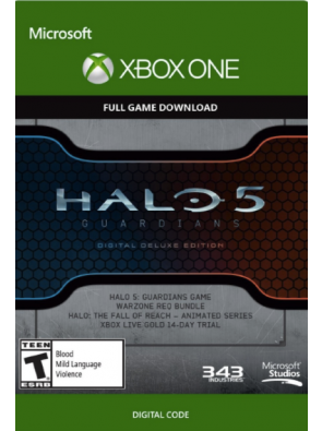 Halo 5 Guardians Digital Deluxe Edition Xbox One - Digital Code