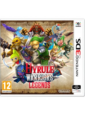 Hyrule Warriors Legends 3DS - Game Code