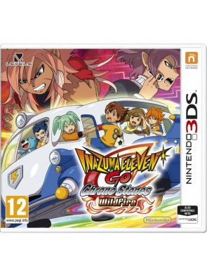 Inazuma Eleven GO Chrono Stones: Wildfire 3DS - Game Code