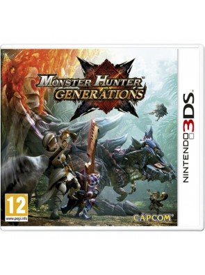Monster Hunter Generations 3DS - Game Code