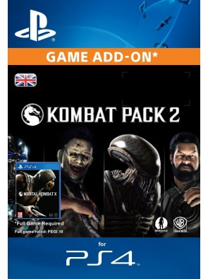 Mortal Kombat X Kombat Pack 2 PS4
