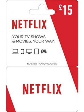 Netflix Gift Card - £15