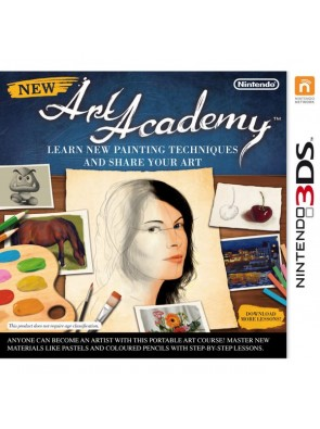 New Art Academy 3DS - Game Code
