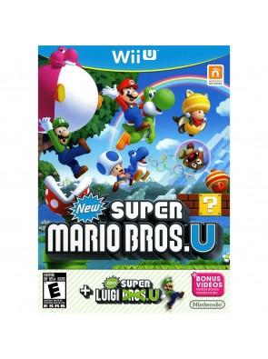 New Super Mario Bros + New Super Luigi Wii U - Game Code