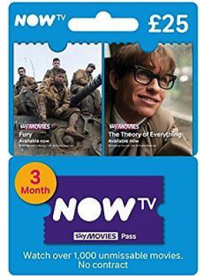 NOW TV - Movies 3 Month Pass
