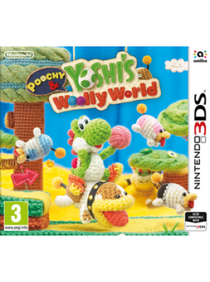 Poochy and Yoshi´s Woolly World 3DS - Game Code