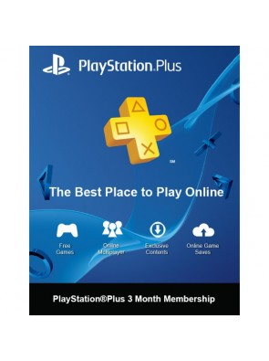 PlayStation Plus - 3 Month Subscription (Switzerland)