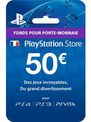 PlayStation Network (PSN) Card - 50 EUR (France)