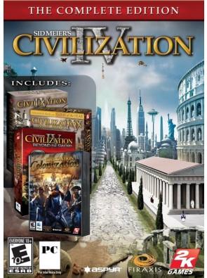 Sid Meier's Civilization IV 4: The Complete Edition PC