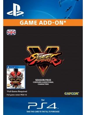 Street Fighter V 5 2016 - Season Pass PS4