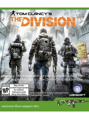 The Division Xbox Weapon Skin DLC